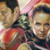 Paul Rudd as Ant-Man & Evangeline Lilly as the Wasp